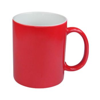 Personalised Premium Quality Colour Changing Mugs - Red